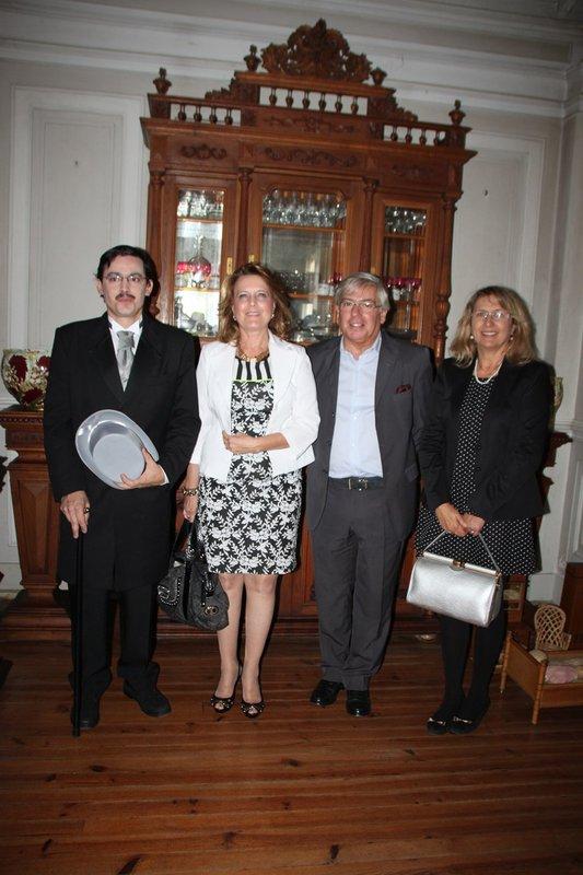 23 Isabel Cabral, Rosa Guerra, José Manuel Vieira com Abel Pereira da Fonseca , JORNADAS EUROPEIAS DO PATRIMÓNIO BOMBARRAL
