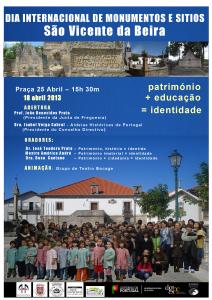 DIA  INTERNACIONAL DE MONUMENTOS E SÍTIOS  SÃO VICENTE DA BEIRA
