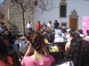 Abertura da cerimónia pelo Dr. Benevides Prata